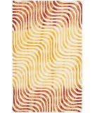 Safavieh Dip Dye Ddy822a Ivory - Terracotta Area Rug
