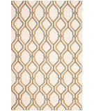 Safavieh Dhurries Dhu104a Ivory - Blue Area Rug