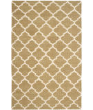 Safavieh Dhurries Dhu115a Green - Ivory Area Rug