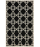 Safavieh Dhurries DHU548L Black / Ivory Area Rug