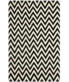 Safavieh Dhurries DHU557L Black / Ivory Area Rug