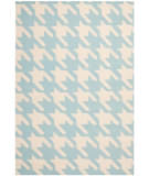 Safavieh Dhurries Dhu570b Light Blue - Ivory Area Rug