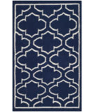 Safavieh Dhurries Dhu625d Navy / Ivory Area Rug