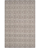 Safavieh Dhurries Dhu626c Brown - Ivory Area Rug