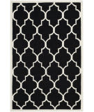 Safavieh Dhurries DHU632A Black / Ivory Area Rug