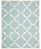 Safavieh Dhurries DHU633C Light Blue / Ivory Area Rug