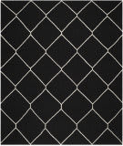 Safavieh Dhurries DHU635A Black / Ivory Area Rug