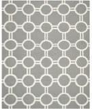 Safavieh Dhurries DHU636B Grey / Ivory Area Rug