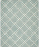 Safavieh Dhurries DHU638C Light Blue / Ivory Area Rug