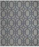 Safavieh Dhurries DHU860C Grey / Dark Blue Area Rug