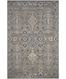 Safavieh Evoke Evk224g Dark Grey - Yellow Area Rug
