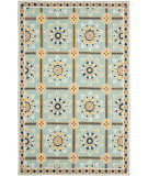 Safavieh Durarug Ezc711b Light Blue - Dark Blue Area Rug