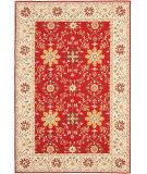 Safavieh Durarug Ezc751c Red - Ivory Area Rug