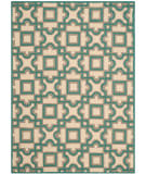 Safavieh Four Seasons Frs398b Ivory - Aqua Area Rug