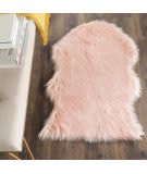 Safavieh Faux Sheep Skin Fss115g Pink Area Rug