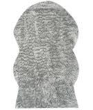 Safavieh Faux Sheep Skin Fss118a Light Grey Area Rug