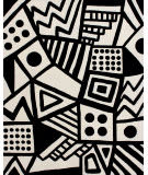 Safavieh Fifth Avenue Ftv124a Ivory - Black Area Rug