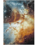 Safavieh Galaxy Gal109d Orange - Multi Area Rug