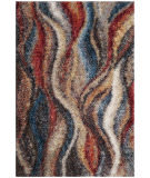 Safavieh Gypsy Gyp523c Rust - Blue Area Rug