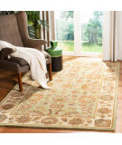 Safavieh Heritage HG343A Green - Gold Area Rug