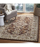 Safavieh Heritage HG451A Brown - Ivory Area Rug