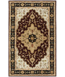 Safavieh Heritage HG760B Red - Black Area Rug