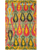 Safavieh Ikat IKT222B Blue / Green Area Rug