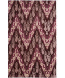 Safavieh Ikat IKT473A Dark Brown / Purple Area Rug