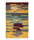 Safavieh Kenya Kny230q Red - Gold Area Rug