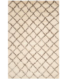 Safavieh Kenya Kny404b Ivory - Dark Brown Area Rug