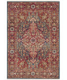 Safavieh Kashan Ksn305a Blue - Red Area Rug