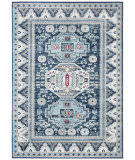 Safavieh Kazak Kzk118d Blue - Creme Area Rug