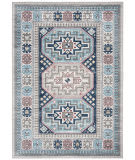 Safavieh Kazak Kzk120g Grey - Blue Area Rug