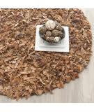Safavieh Leather Shag Lsg511k Brown Area Rug