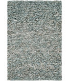 Safavieh Leather Shag LSG511L Light Blue Area Rug
