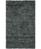 Safavieh Leather Shag Lsg511n Grey Area Rug