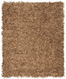 Safavieh Leather Shag Lsg601e Light Gold Area Rug