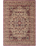 Safavieh Lavar Kerman Lvk601b Creme - Red Area Rug