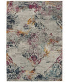 Safavieh Madison Mad157r Light Grey - Fuchsia Area Rug