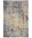 Safavieh Madison Mad922a Ivory - Aqua Area Rug