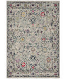 Safavieh Madison Mad923r Light Grey - Fuchsia Area Rug