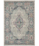 Safavieh Madison Mad926r Light Grey - Fuchsia Area Rug