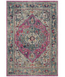Safavieh Madison Mad930r Fuchsia - Aqua Area Rug