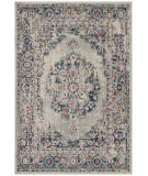 Safavieh Madison Mad931f Light Grey - Fuchsia Area Rug