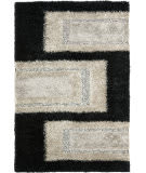 Safavieh Manhattan MAN522B Black / Grey Area Rug