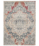 Safavieh Merlot Mer313f Grey - Navy Area Rug