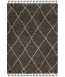 Safavieh Moroccan Fringe Shag Mfg241a Grey - Cream Area Rug
