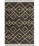 Safavieh Moroccan Fringe Shag Mfg249a Grey - Cream Area Rug
