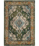 Safavieh Monaco Mnc243f Forest Green - Light Blue Area Rug