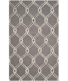 Safavieh Manchester Mnh540a Dark Grey - Ivory Area Rug